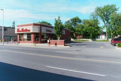 The Tim Hortons in Ottawa Featured in the Infamous 'RWDI' Repoty - (Note the parking lot is empty)